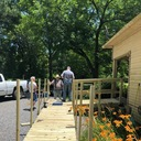 K of C Installs Handicapped Ramp For Local Parishioner photo album thumbnail 6