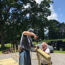 K of C Installs Handicapped Ramp For Local Parishioner photo album thumbnail 8